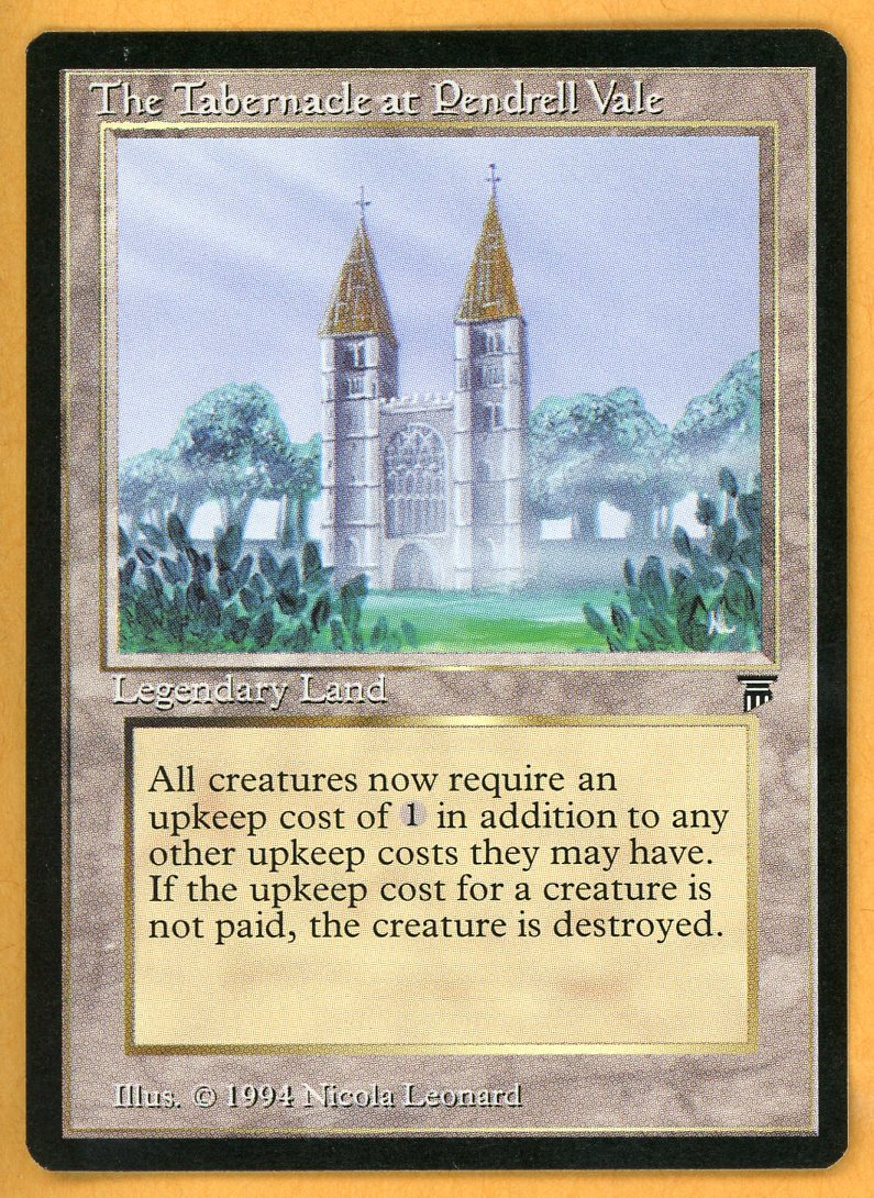VIV Card Review: Legends Tabernacle at Pendrell Vale