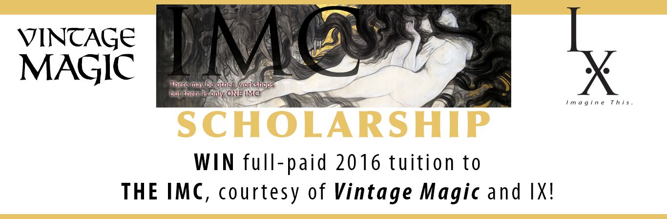 The Winner of THE IMC Scholarship 2016 Winner is...
