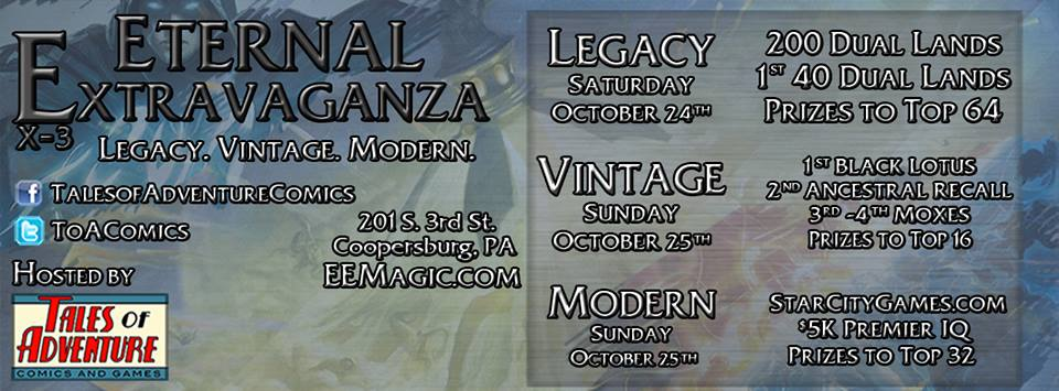 Eternal Extravaganza 3 | October 24-25th, 2015