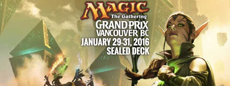 Jesper Myrfors will be attending GP Vancouver, B.C. 2016 | January 29th to 31st, 2016