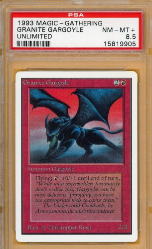 PSA 85 UNLIMITED GRANITE GARGOYLE540