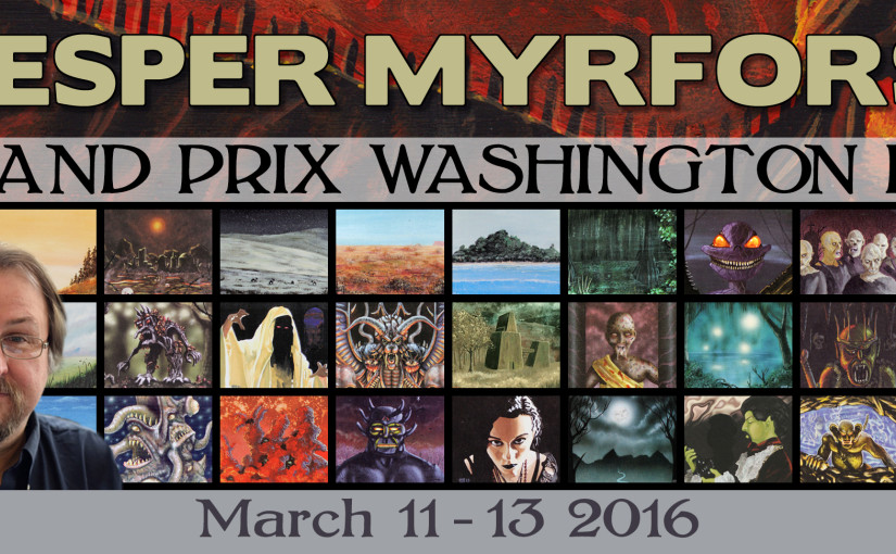 Jesper Myrfors will be attending GP Washington, D.C. 2016 | March 11th to 13th, 2016