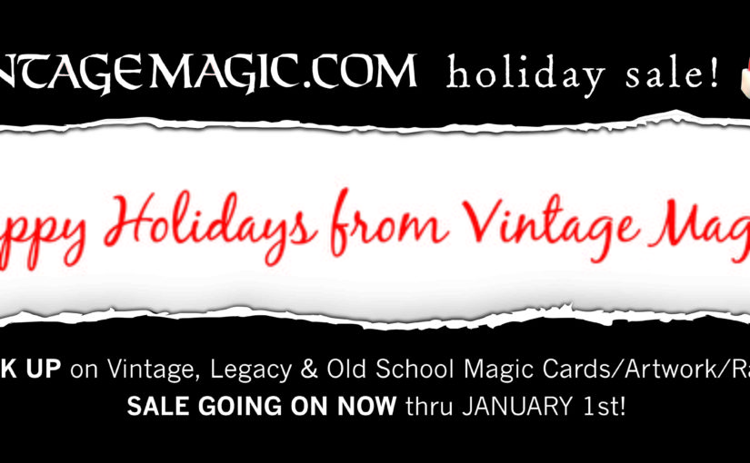2016 Vintage Magic Holiday Sale