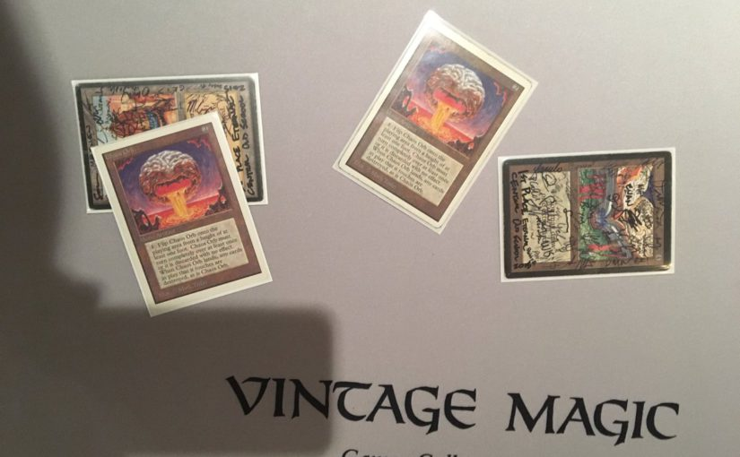 Old School Magic: Chapter 8 -- 2nd Place at Eternal Weekend, 2016 with Blue-Red Aggro-Control