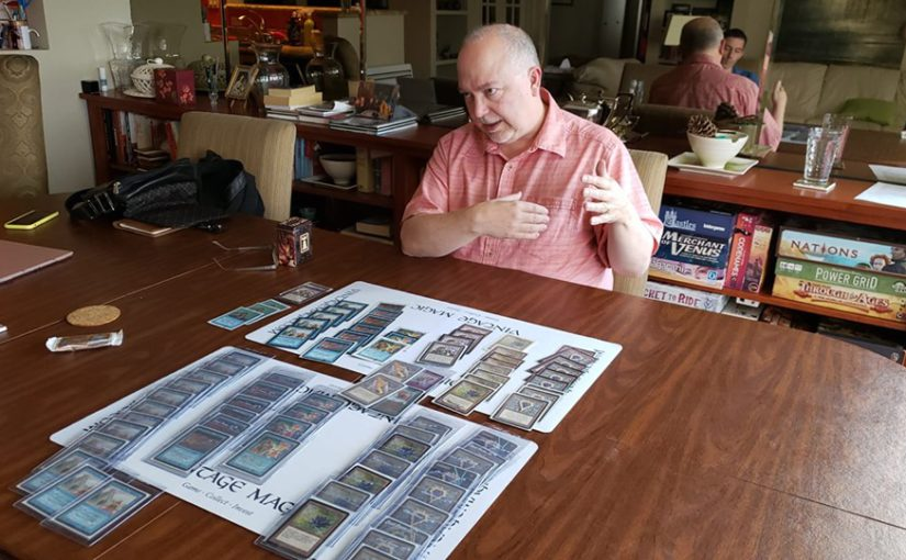 EX-CEO of WOTC, Peter Adkison plays his $500,000 deck after DECADES LOST...